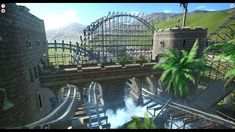 If you like this blueprint please remember to give it a thumbs up! Haunted Maze, Zoo Architecture, Planet Coaster, Game Design, Planets, Concept Art, Coasters, Workshop, Gaming