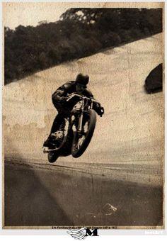 Eric Fernihough | Brough Superior JAP | Brooklands Banking 1937