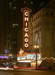 Chicago Theatre - Chicago, Illinois