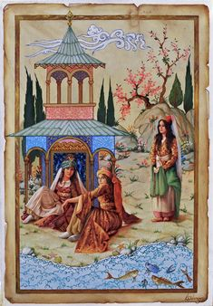 :::: ✿⊱╮☼ ☾ PINTEREST.COM christiancross ☀❤•♥•* :::: Ottoman women