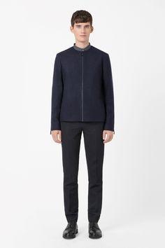 COS | Round-neck wool jacket