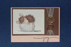 Dreampuff house mouse swap by megjoralys - Cards and Paper Crafts at Splitcoaststampers