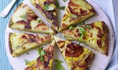 Dinner at Audrey's! Potato and onion tortilla | Daily Mail Online