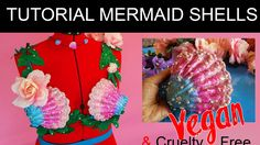 How to make Shells for a MERMAID BRA 💦 HSAMABLOG