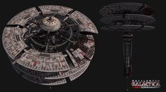 Ragnar Anchorage image - Battlestar Galactica: Fleet Commander mod for Homeworld: Remastered