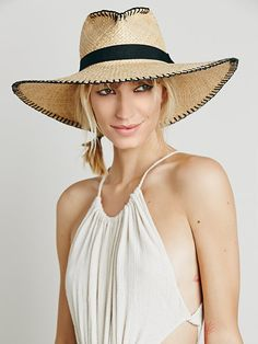 Free People Brava Wide Brim Straw Hat, $98.00 from the 'ale by Alessandra collection.