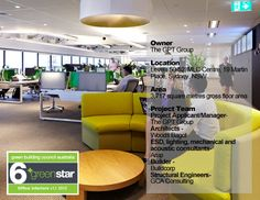 The GPT Group Head Office Fitout #greenbuilding #greenstar #sustainableinteriordesign