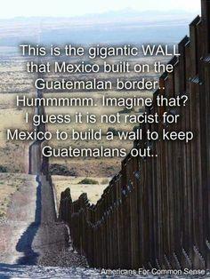 And...if you are in Mexico illegally, you are jailed and deported as soon as they can arrange it.