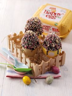 Eric Lanlards Peanut Butter & Chocolate Egg Cups - Serenity You