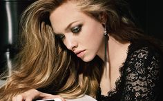 Download wallpapers Amanda Seyfried, portrait, american actress, Hollywood, blonde, beauty