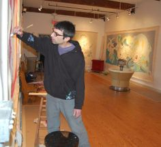 VAE artist painting in the public's eye - Berkshire Eagle Online