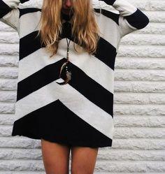 Black & white chevron.