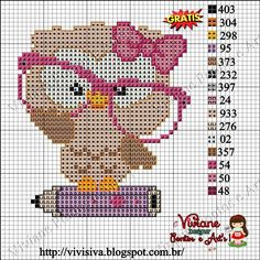 1 million+ Stunning Free Images to Use Anywhere Cross Stitch Owl, Butterfly Cross Stitch, Cross Stitch Cards, Cross Stitch Alphabet, Cross Stitch Animals, Cross Stitch Kits, Cross Stitch Designs, Cross Stitching, Cross Stitch Embroidery