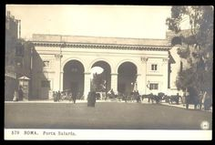 Porta Salaria, interno, <1921