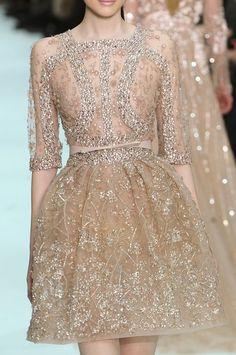 Elie Saab  If only I were rich, And thin, And young, well then this would be for me.