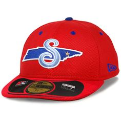d88878cac85 Tennessee Smokies New Era Low Crown Diamond Era 59FIFTY Fitted Hat - Red -   34.99
