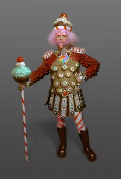 My King Candy (Candyland) costume