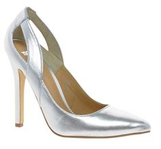 Blogger Inspiration: How to StyleASOS Populate Metallic Silver Pumps, $50.91 Metallic Pumps