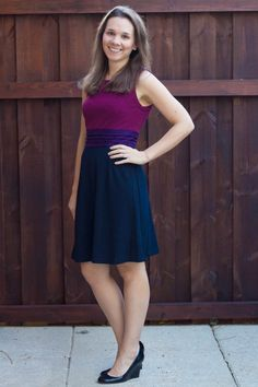 41Hawthorne Dita Colorblock Ponte Dress - - super cute! Would love if it was a bit longer