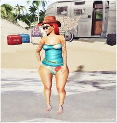 Moda no SL by Luah Benelli