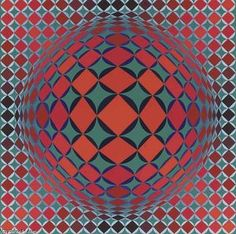 Kezdi-All - (Victor Vasarely)