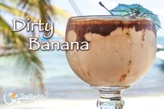 An island favorite, the Dirty Banana drink recipe combines creamy ingredients and a banana for a tropical cocktail.