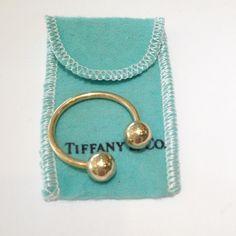 Tiffany&Co key ring 18k yellow gold Tiffany & Co. Accessories