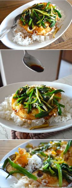 Eggs Over Easy with Soy Sauce, SUPER EASY!