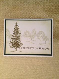 Lovely as a tree I Card, Card Ideas, Christmas Cards, Card Making, Seasons, Frame, Decor, Christmas E Cards, Picture Frame