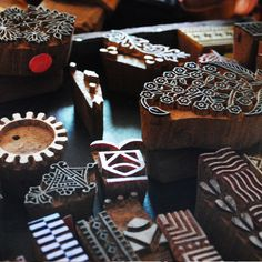 i wish to have them all ...such intricate beautiful designs carved on wood.