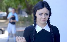 Adult Wednesday Addams