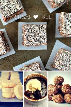Visit our blog for lots of yummy sugar free recipes Sugar Free Baking, Sugar Free Treats, Sugar Free Recipes, Healthy Treats, Free Food, Bread, Breakfast, Blog, Morning Coffee