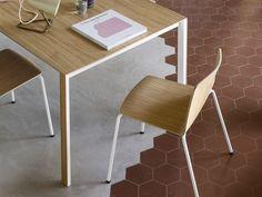 Tavolo kristalia ~ Tavolo rettangolare in legno thin k wood by kristalia design