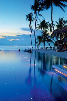 Pasar una noche aquí...Islas Maldivas.