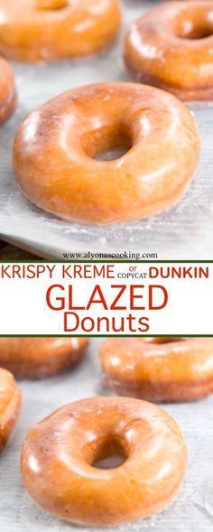 Dunkin Donuts Glazed Donuts Recipe (Copycat) krispy-lreme-dunkin-donuts-copycat-glazed-donut-recipe-alyonascooking- The post Dunkin Donuts Glazed Donuts Recipe (Copycat) & DONUTS appeared first on Essen und trinken . Dunkin' Donuts, Dunkin Donuts Recipe, Donut Glaze Recipes, Baked Donuts, Best Glazed Donut Recipe, Copycat Krispy Kreme Donut Recipe, Yummy Donuts, Fluffy Donut Recipe, Deep Fryer Donut Recipe
