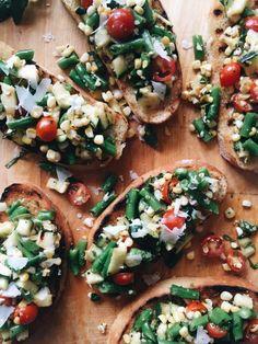 Grilled Summer Veget