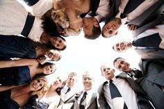 30 Fun Bridal Party Photos | Wedding Planning, Ideas & Etiquette | Bridal Guide Magazine