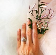 17 Ring Designers to Follow On Instagram | Jessica McCormack's  London-based bridal collection is specifically recognized for two designs, Wings of Desire and Tetris (pictured here).