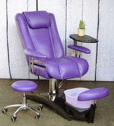 Purple Embrace Chair
