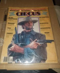 #ad VINTAGE  CIRCUS WEEKLY MAGAZINE OCTOBER 261976  CLINT EASTWOOD NUGENT http://rover.ebay.com/rover/1/711-53200-19255-0/1?ff3=2&toolid=10039&campid=5337950191&item=302694033552&vectorid=229466&lgeo=1