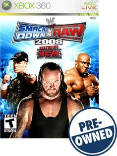 WWE SmackDown vs. Raw 2008 — PRE-Owned - Xbox 360
