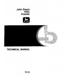 Repair manual john deere 6205 6505 tractors repair operation and john deere 450c crawler loader bulldozer service technical manual tm1102 fandeluxe Image collections