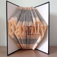 FAMILY - Book Folding Pattern. DIY gift for book art. Template with step by step instructions. Very easy, no measuring required by LooksInviting on Etsy