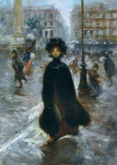 Le Prince Lointain: Vincenzo Migliaro (1858-1938), Una Via di Parigi.