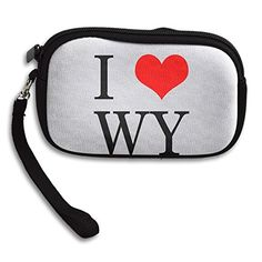 I Love Wyoming Women's Zipper Small Wallet Purse Porte-monnaie Clutch Cards Holder Wallet Purse Business Card...   #90likes