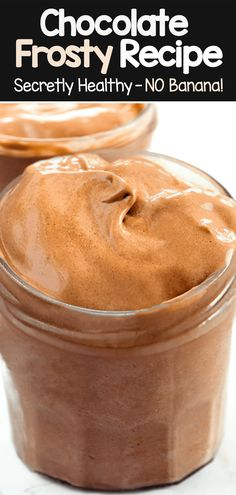 How To Make A Copycat Wendy's Chocolate Frosty Recipe (vegan, healthy) Wendy's Chocolate Frosty Recipe, Homemade Chocolate Bars, Chocolate Hummus, Frozen Chocolate, Mini Chocolate Chips, Chocolate Truffles, Vegan Chocolate, Chocolate Recipes, Vegan Sweets