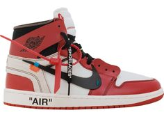 Place a 190 Bid to win the Re-StockX Promo Jordan 1 Retro High Off-White Chicago for Retail on StockX! http://refer.stockx.com/gRzCt