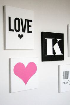 The TomKat Studio: Canvas Art for Kate's Room…