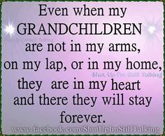 Too all my big hearted... Smart... Charming... Outgoing... Talented grandchildren ... whom I love to the moon..,, would trade one inch of you... You are indeed a blessing  a miracle ... Love  prayers ... Your grandma mom... Gram cracker... G mom... Grandma... Grammy... Ham ma... I luv all these nicknames...xo