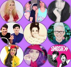 Ma Fave Youtubers!!!